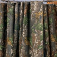 Realtree Hardwoods Camo Shower Curtain
