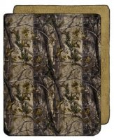 "Realtree Ap Camo Plush Throw Blanket 50"" W X 60"" L"