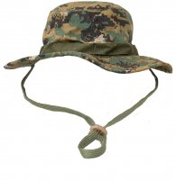 USMC Woodland Digital Camo Kids Boonie Cap