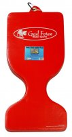 Gail Force Extra Thick Saddle Seat Pool Float Red