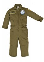 Kids United States Air Force Replica Flight Suit Sage Green