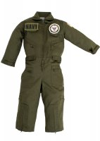 Kids United States Navy Replica Flight Suit Sage Green