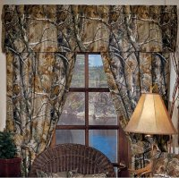 Licensed Realtree AP Camo Pattern Curtains