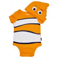 Finding Nemo Baby Bodysuit & Hat Set