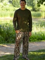 Mens Mossy Oak Shadowgrass Blades Camo Lounge Pants - 609523