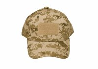 Kids 6 Panel Tactical Cap Desert Camo