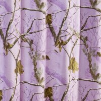 "Realtree AP Lavender Camo Shower Curtain 72"" x 72"""
