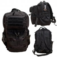 Kids Recon Black Tactical Backpack
