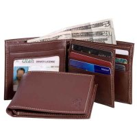 Browning Leather Bi-Fold Wallet w/ID Window