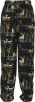 Trail Crest Men's Deer Pattern Lounge Fleece Pajama Pants