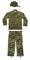 Kids Woodland Digital Camo Marines Replica Junior G.I. Uniform