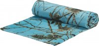 "Sky Blue Forest Camo 30"" x 60"" Premium Beach Towel"
