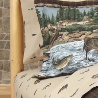 Kimlor Mills River Fishing Sheet Set
