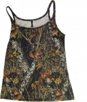 Wilderness Women's Mossy Oak Breakup Camo Tank Top 604821