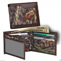 Casual Series Mossy Oak Break Up Nylon Billfold Wallet 200431