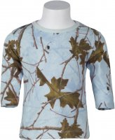 Highland Forest Sky Blue Camo Toddler Long Sleeve T-Shirt