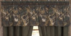 Browning Whitetails Valance