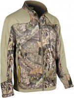 Yukon Gear Fleece Mid-layer Jacket Mossy Oak Breakup Country