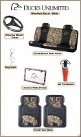 Licensed Ducks Unlimited Brand 8 Pc. Truck Interior Accessories