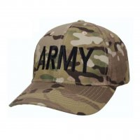 Army MultiCam Low Profile Ball Cap Officially Licensed
