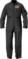 Kids Future Pilot Tactical Black Coverall / Flight Suit