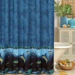 Coral Reef Scene Shower Curtain