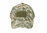 Kids 6 Panel Tactical Cap ABU Tiger Stripe Camo