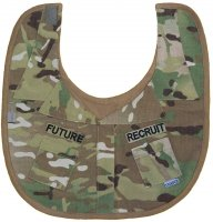 Baby Boys Multicam Future Recruit Camo Uniform Baby Bib
