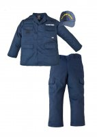 Kids US Coast Guard 3 Pc Blue USCG Replica Work Uniform