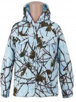 Kids Sky Blue Forest Camo Thurmond Sherpa Lined Jacket