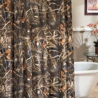 Realtree Max-4 Camo Shower Curtain