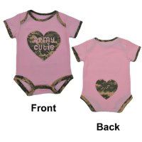 "United States Army ""Army Cutie"" Pink Baby Bodysuit"