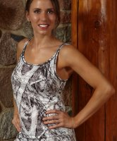 Wilderness Women's Naked North Snow Camo Tank Top 604849