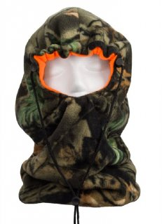 Gator Neck Facemask Reversible from Camo to Blaze Orange 494-84