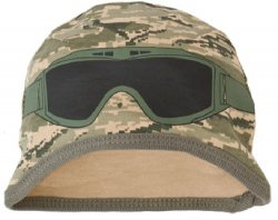 United States Air Force ABU Tiger Stripe Camo Baby Goggle Cap