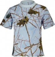 Highland Forest Sky Blue Camo Toddler Short Sleeve T-Shirt