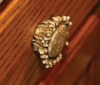Round Antler Drawer or Cabinet Knobs 12 Pairs