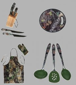 Chefs Cooking Gift Set 12 Pc. Camo
