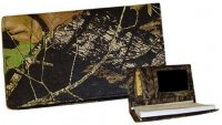 Mossy Oak Break-Up Camo Leather Checkbook Cover