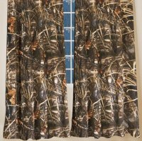 Realtree Max-4 Camo Rod Pocket Curtains 84""