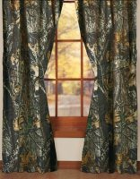 Licensed Mossy Oak New Breakup Camo Curtains