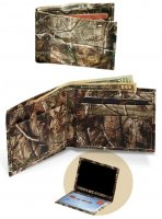 Premium Leather Realtree AP Camo Billfold Wallet 200427