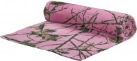 "Pink Forest Camo 30"" x 60"" Premium Beach Towel"