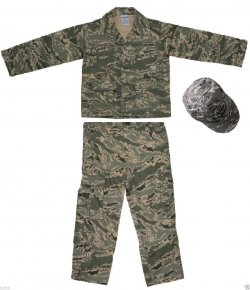 USAF ABU Camo Kids Airmans Battle Uniform 3 pc Set
