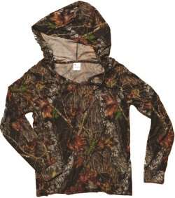 Wilderness 605921 Women's Mossy Oak Break-Up Hoodie