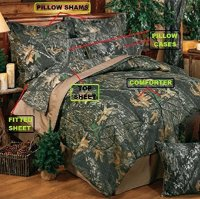 Mossy Oak Breakup Bed-in-a-bag Bed Set