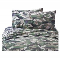 Browning Buckmark Camo Green Sheet Set