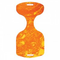 Sun Comfort Saddle Seat Pool Float, Orange Swirl