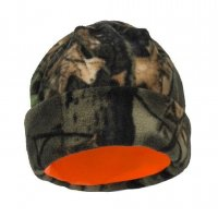 Beanie Cap Reversible from Camo to Blaze Orange 491-84