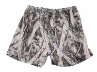 Wilderness Naked North Snow Camo Lounge Shorts - 604049